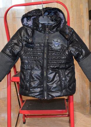 Куртка демисезонная на мальчика mexx 9-12м