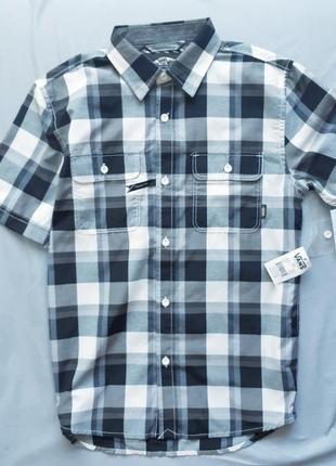 Рубашка в клетку vans 10-14лет 140см