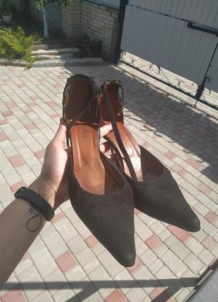 Винтажные туфли damex