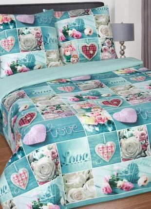 Признание- натуральное постельное белье из поплина