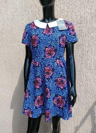 -50% на вторую вещь новое платье missguided цветочный принт uk 12 наш 46