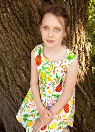 Прекрасное платье из хлопка
