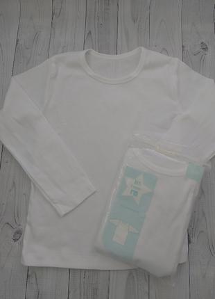Набор нательного белья (лонгслив) mothercare мальчику, 5 лет