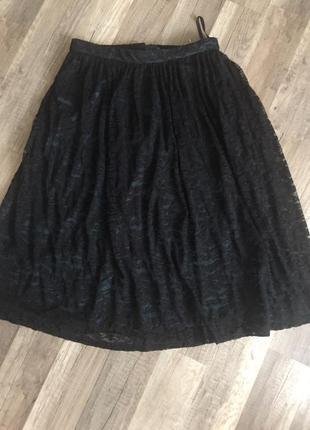 Гипюровая юбка.