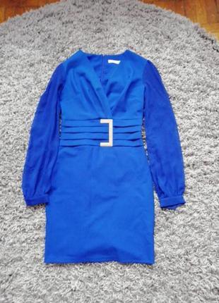 Синє плаття