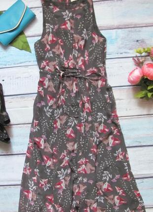 Шикарное длинное легкое платье m&s (peruna)