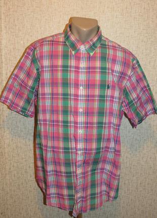 Рубашка ralph lauren classic fit (xl) мужская 100% хлопок