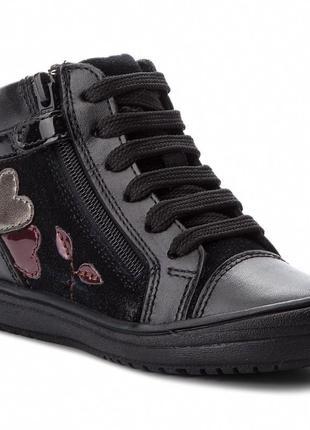 Geox hadriel - кожаные ботинки