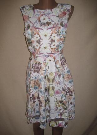 Хорошенькое вискозное платье дороти перкинс р-р12,