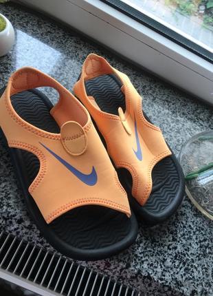Nike( оригинал ) новые пляжные сандали