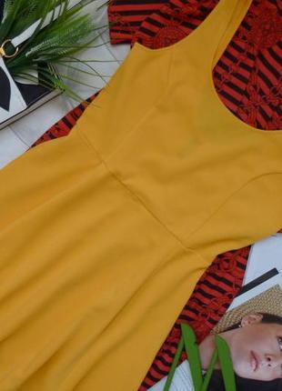 Солнечное платье-сарафан