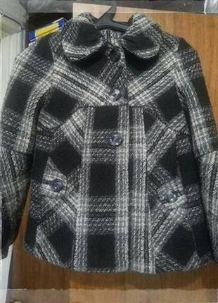 Модное пальто деми 146-152