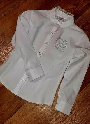 Школьная блузка 2019