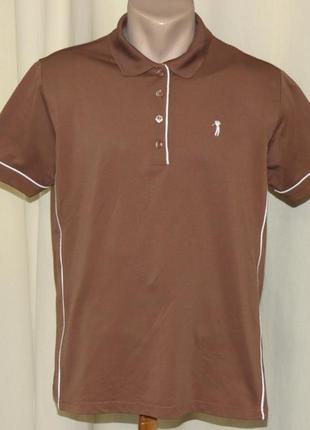 Футболка поло для гольфа golf couture размер 44