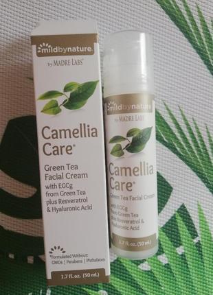 Лёгкий  крем-гель для лица  сamellia care