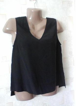 Шелковая блуза майка, шелк от david lawrence, разм. 46-48