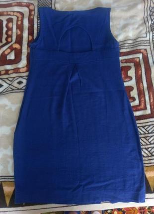 Красивое, синее платье2 фото