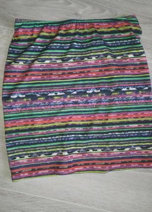 Яркая юбка на лето2 фото