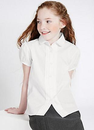 Школьная блузка marks&spencer 11-12лет