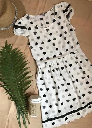 Платье из вискозы милый принт dorothy perkins.