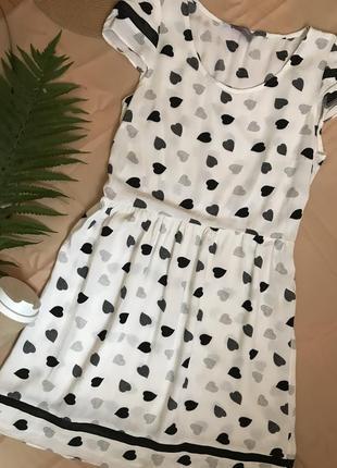 Платье из вискозы милый принт dorothy perkins.2 фото