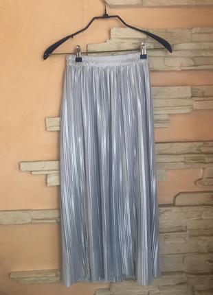 Нарядная плиссированная юбка