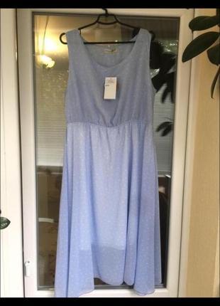 Платье сарафан легкое воздушное