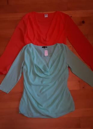 Блузы из шифона