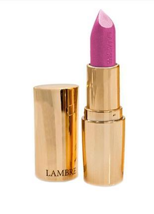 Помада lambre classic exclusive colour півматова тон 20 солодкий розовий
