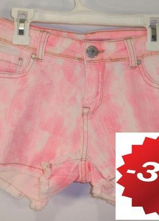 Стильные джинсовые шорты итальянский бренд terranova р. s