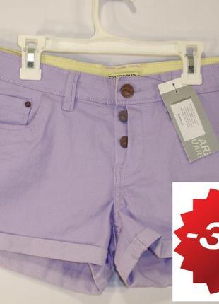 Стильные женские шорты итальянский бренд terranova р. l