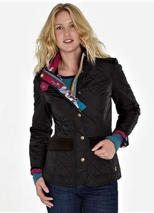 Брендовая куртка-пиджак-блейзер на кнопках и молнии от joules💕