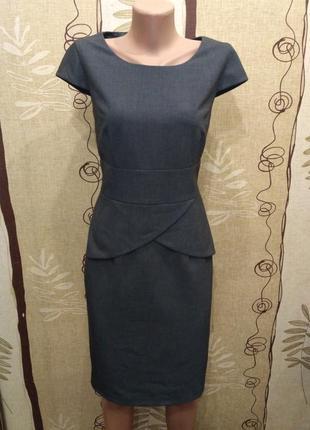 Calvin klein шикарное офисное платье