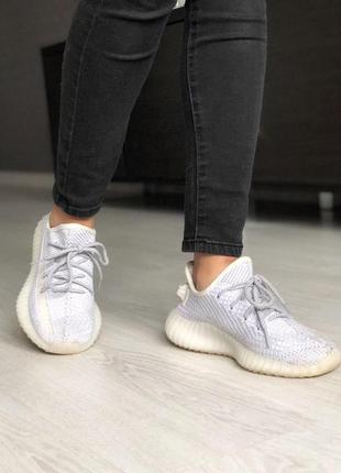Шикарные полностью рефлективные кроссовки adidas в сером цвете (весна-лето-осень)😍