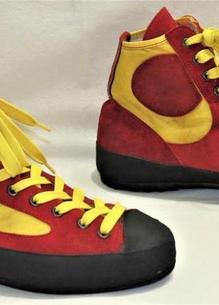 Скальники ботинки для хайкинга hanwag кожа