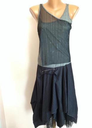 Симпатичное платье в стиле бохо. /s- m/ brend 2026