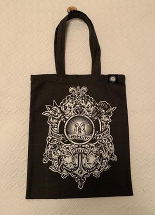 Эко сумка шоппер торба наше море серая