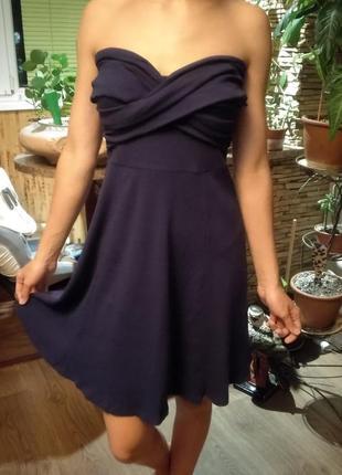 Красивое платье в рубчик asos