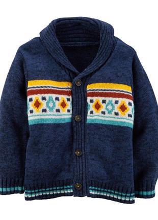 Нарядный свитер carter's