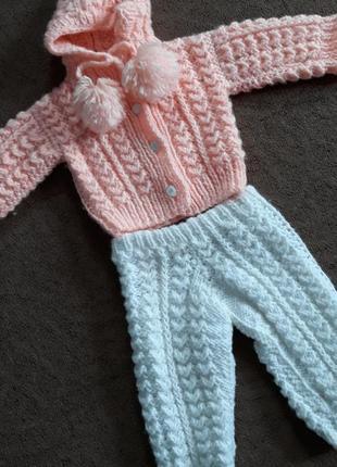 костюм для девочки вязаный 2019 купить недорого детские вещи в