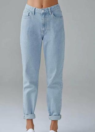 Летние легкие джинсы мом размер 20 батал