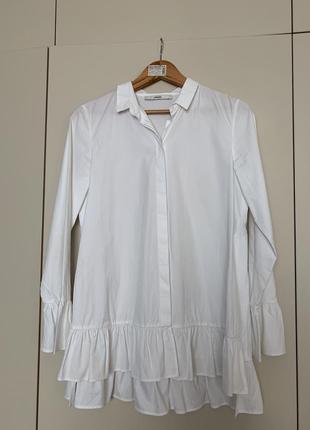 Блуза с воланами uterque