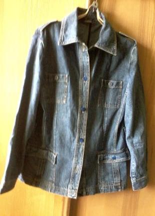 Джинсовая  курточка от dunnes stores,размер на l-xl