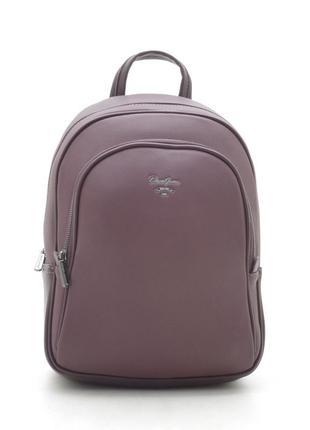 Новый женский городской бордовый рюкзак david jones