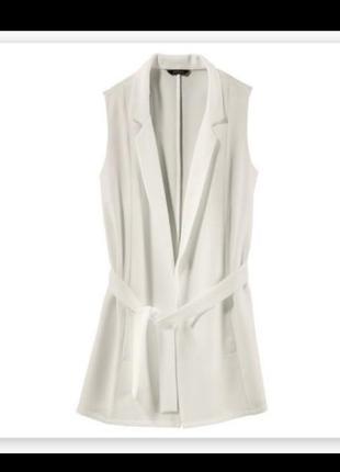 Невероятно стильный пиджак без рукавов, жилетка esmara