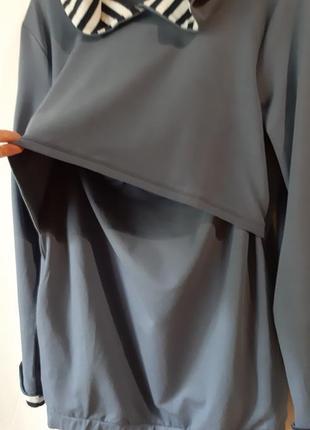 Свитшот худи для беременных и кормящих3 фото