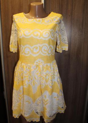 Кружевное платье atmosphere в идеальном состоянии м