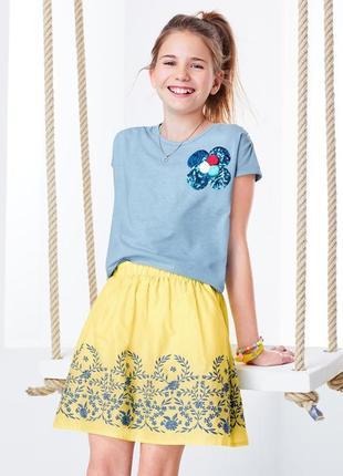 Шикарная летняя юбка от tcm tchibo германия