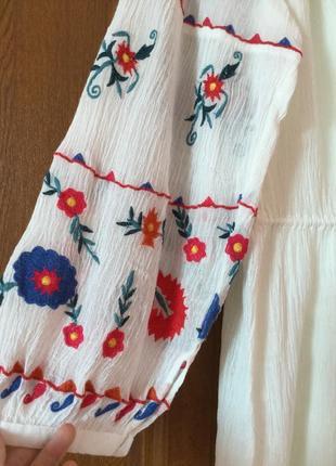 Платье вишиванка zara новое с етикеткой4 фото