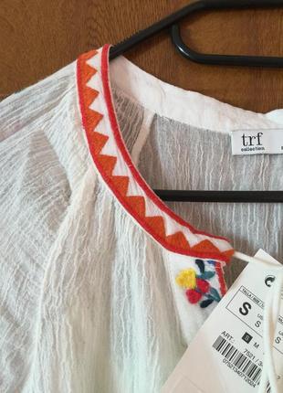 Платье вишиванка zara новое с етикеткой5 фото